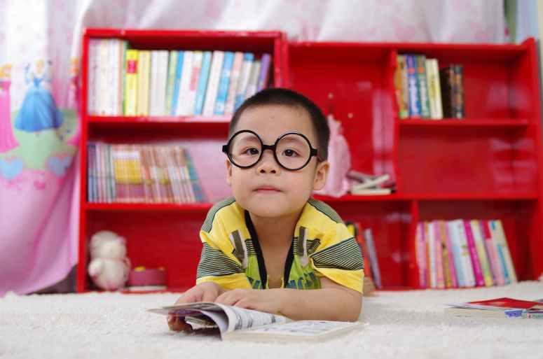 adorable blur bookcase books